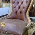 Fotel przed renowacją